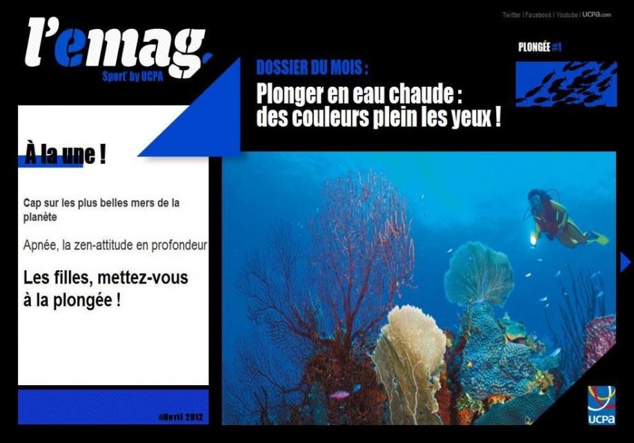Création et animation d'un magazine