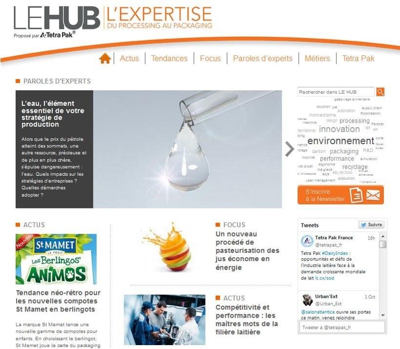 Lancement d'un Hub